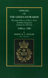 Officers of the Green Howards by M.L Ferrar image