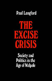 The Excise Crisis by Paul Langford image