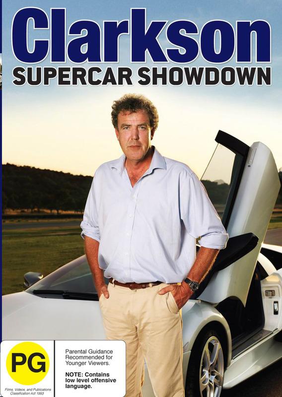 Clarkson - Supercar Showdown on DVD