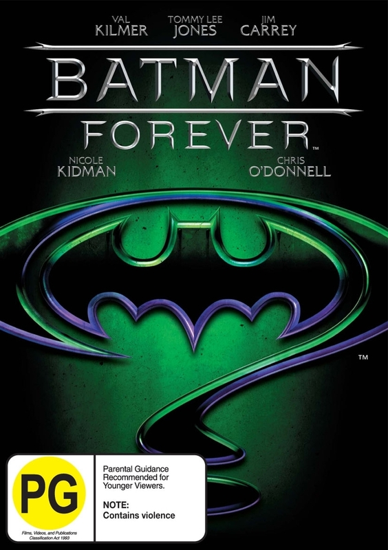 Batman Forever on DVD