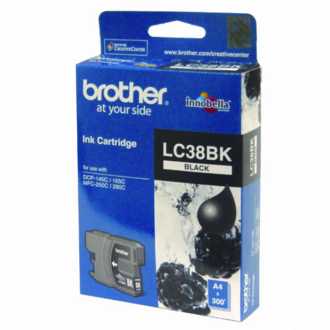 Brother LC-38BK Ink Cartridge (Black)