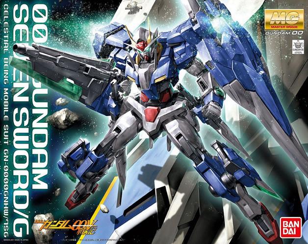 MG 1/100 Gundam 00 Seven Sword - Model Kit