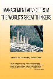 Management Advice from the World's Great Thinkers by Jim Miller image