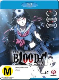 Blood-C: The Last Dark (Movie) on Blu-ray