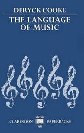 The Language of Music by Deryck Cooke