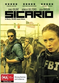 Sicario on DVD