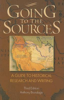 Going to the Sources by Anthony Brundage image