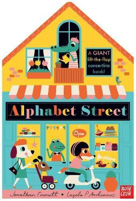 Alphabet Street by Jonathan Emmett