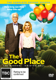 The Good Place: The Complete Second Season on DVD