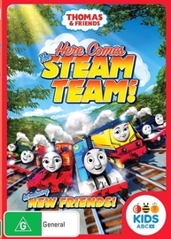 Thomas & Friends: Steam Team on DVD