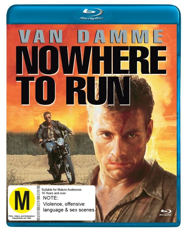 Nowhere to Run on Blu-ray