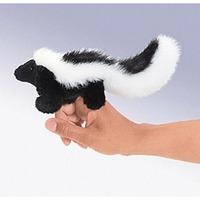 Folkmanis Mini Finger Puppet - Skunk