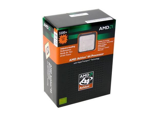 AMD Athlon 64 3200+ 64Bit SKT939 2000MHZ Hyper  Transport