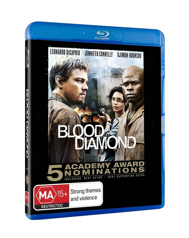 Blood Diamond on Blu-ray