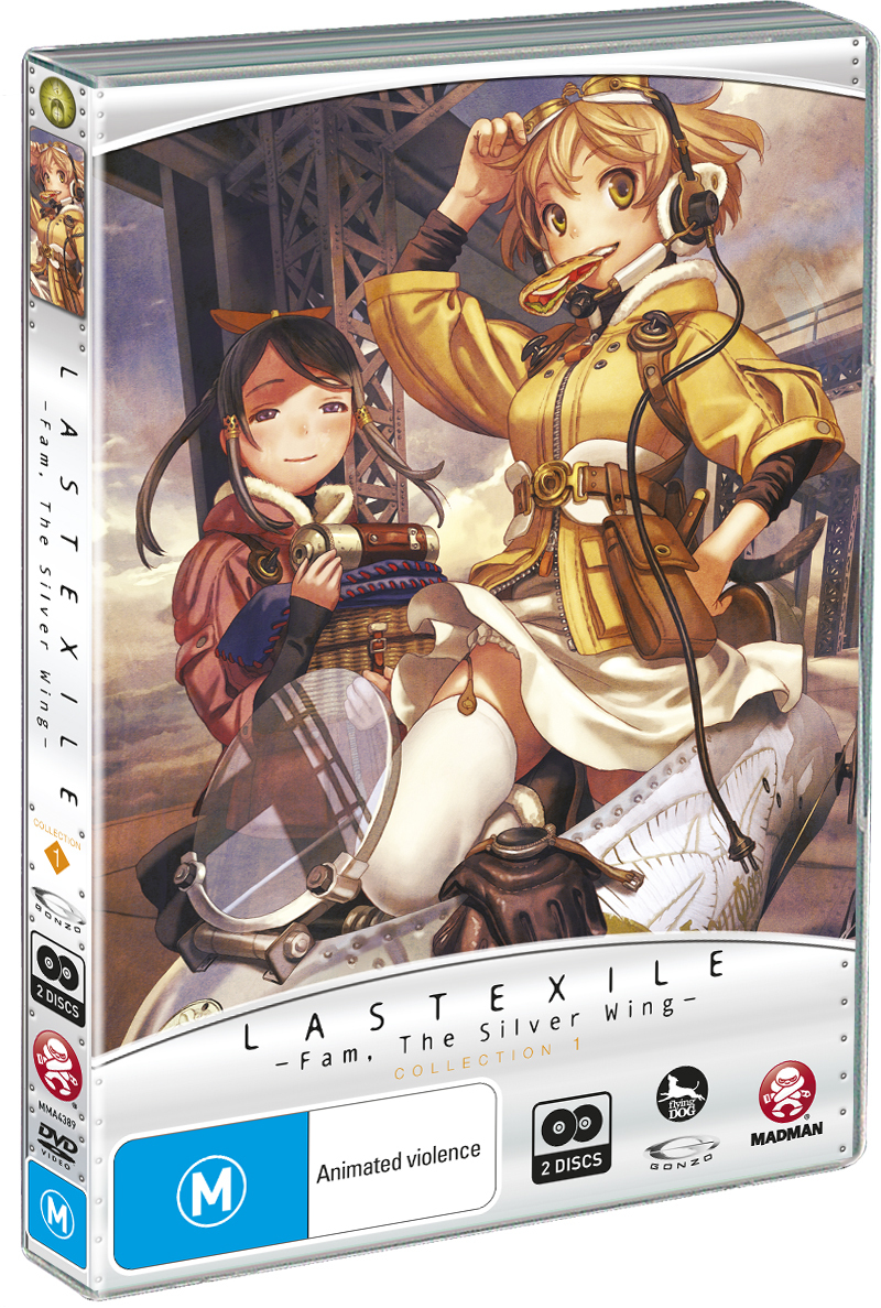 Last Exile: Fam, The Silver Wing - Collection 1 on DVD image