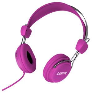 Kids Friendly Stereo Headphones (Pink) image