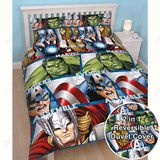 Marvel: Avengers Shield Duvet Set - Double