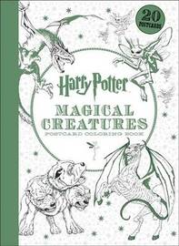 Harry Potter Magical Creatures Postcard Coloring Book by Scholastic