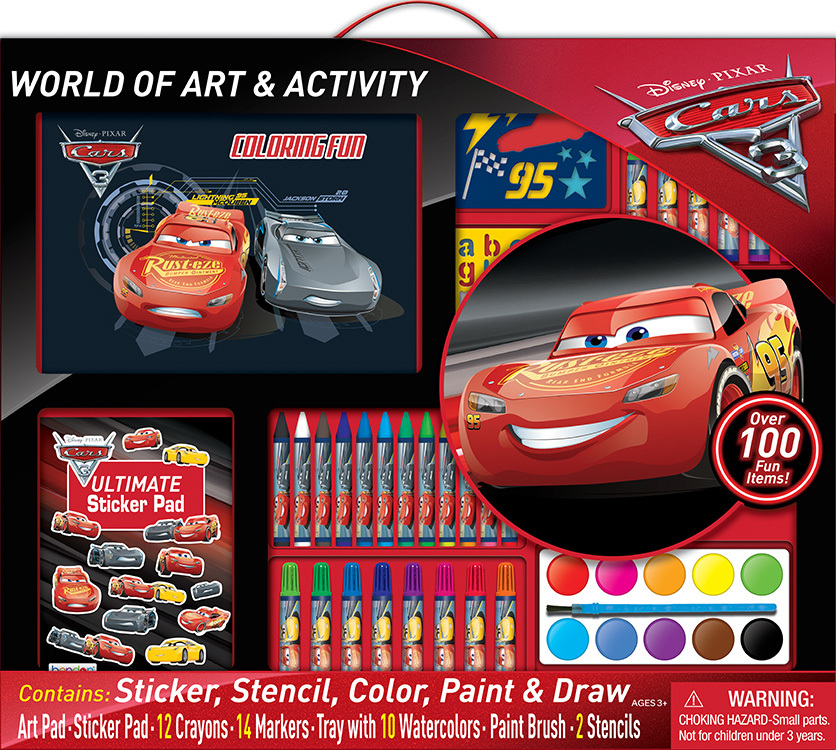 Disney Cars 3 - World of Art & Activity Set image