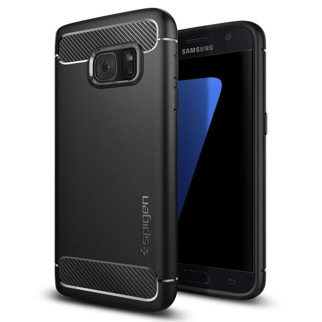 Spigen: Galaxy S7 - Rugged Armour Case (Black)