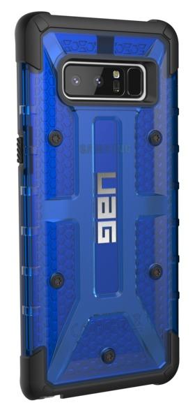UAG Plasma Case for Galaxy Note 8 (Cobalt/Black)