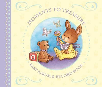 Moments To Treasure: Baby Album and Record Book with Integral Box image