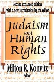 Judaism and Human Rights by Carlos Ripoll