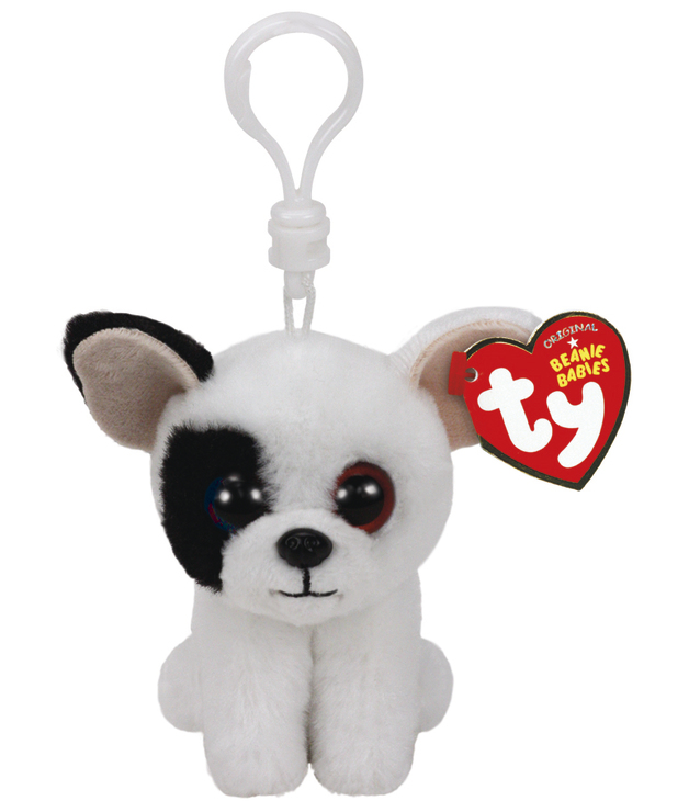 Ty Beanie Babies: Marcel Dog - Clip On Plush
