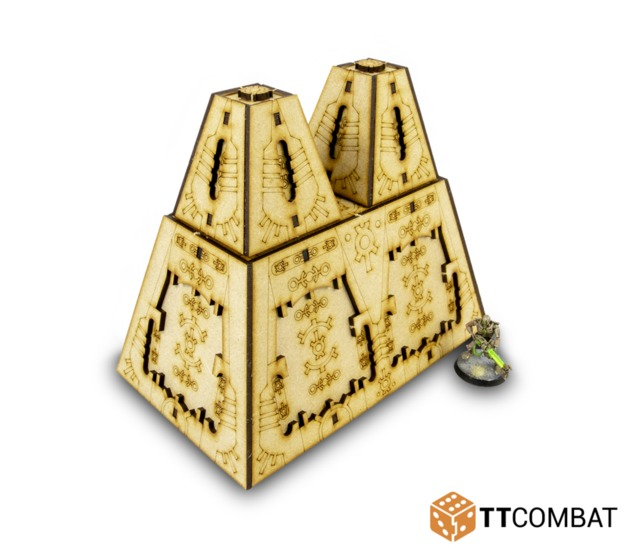 TTCombat: Tabletop Scenics - Cyber Megalith B