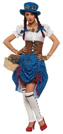 Wizard of Oz: Dorothy - Steampunk Costume (Small)