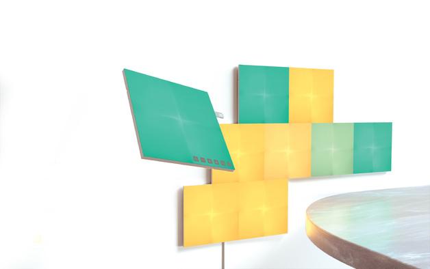 NANOLEAF Canvas Square Panels Expansion Pack (4 Panels)