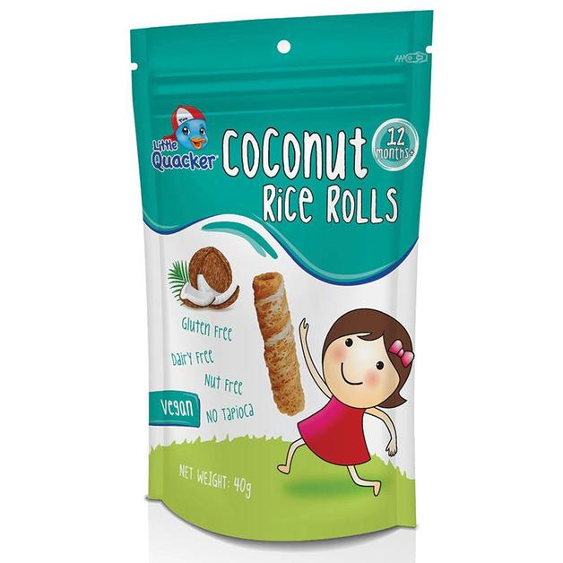 Little Quacker: Coconut Rice Rolls - Original (40g)