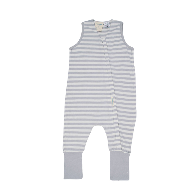Woolbabe: 3-Seasons Sleeping Suit Pebble - 2 Years