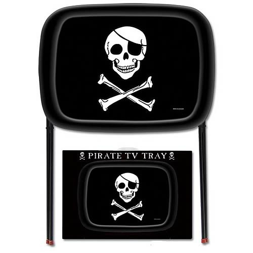 Pirate TV Tray image