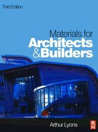 Materials for Architects and Builders by Arthur Lyons image