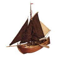 Artesania Latina Zuiderzee Botter 1:35 Wooden Model Kit