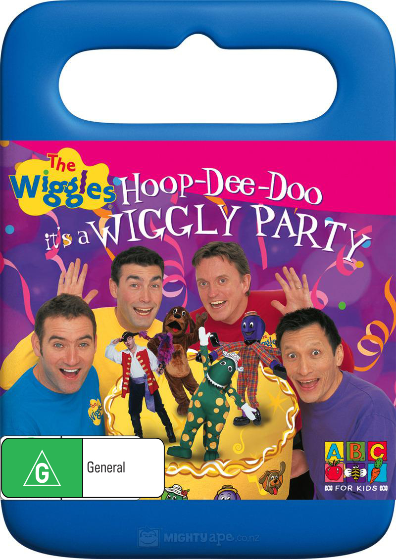 The Wiggles - Hoop De Doo, It's A Wiggly Party on DVD image