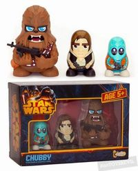 Star Wars: Chubby Series 1 - Chewbacca, Han Solo, Greedo