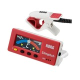 Korg SlimPitch Chromatic Tuner w/mic (Red/White)