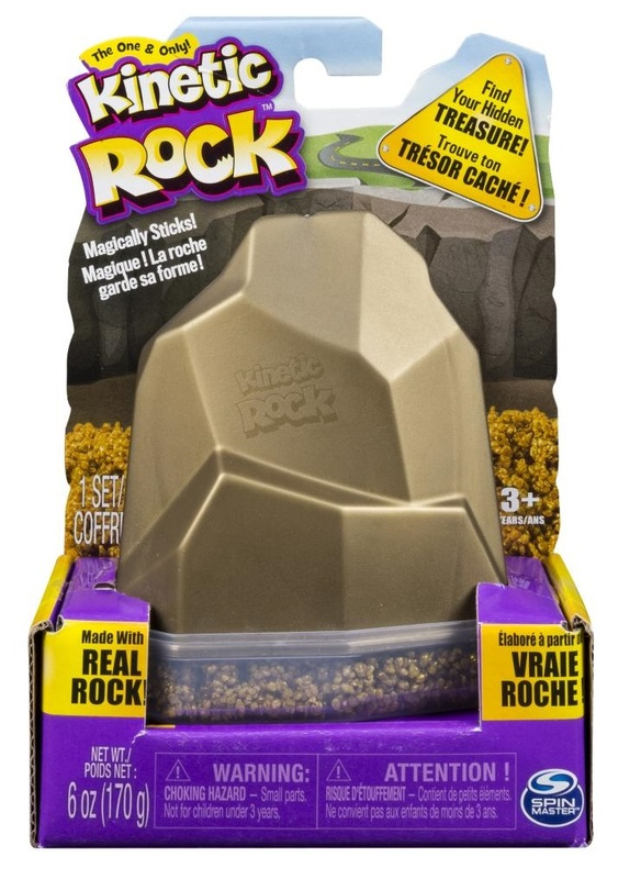 Kinetic Sand: Kinetic Rock Pack – Gold