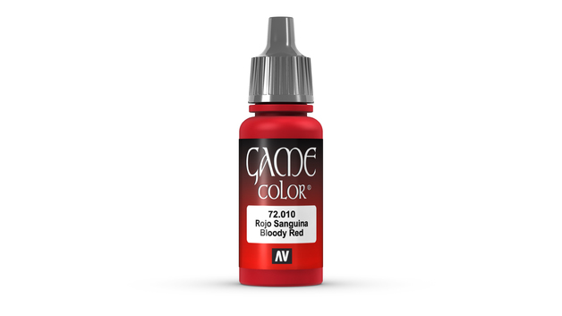 Vallejo Game Colour Bloody Red 17ml