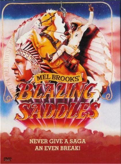 Blazing Saddles on DVD image