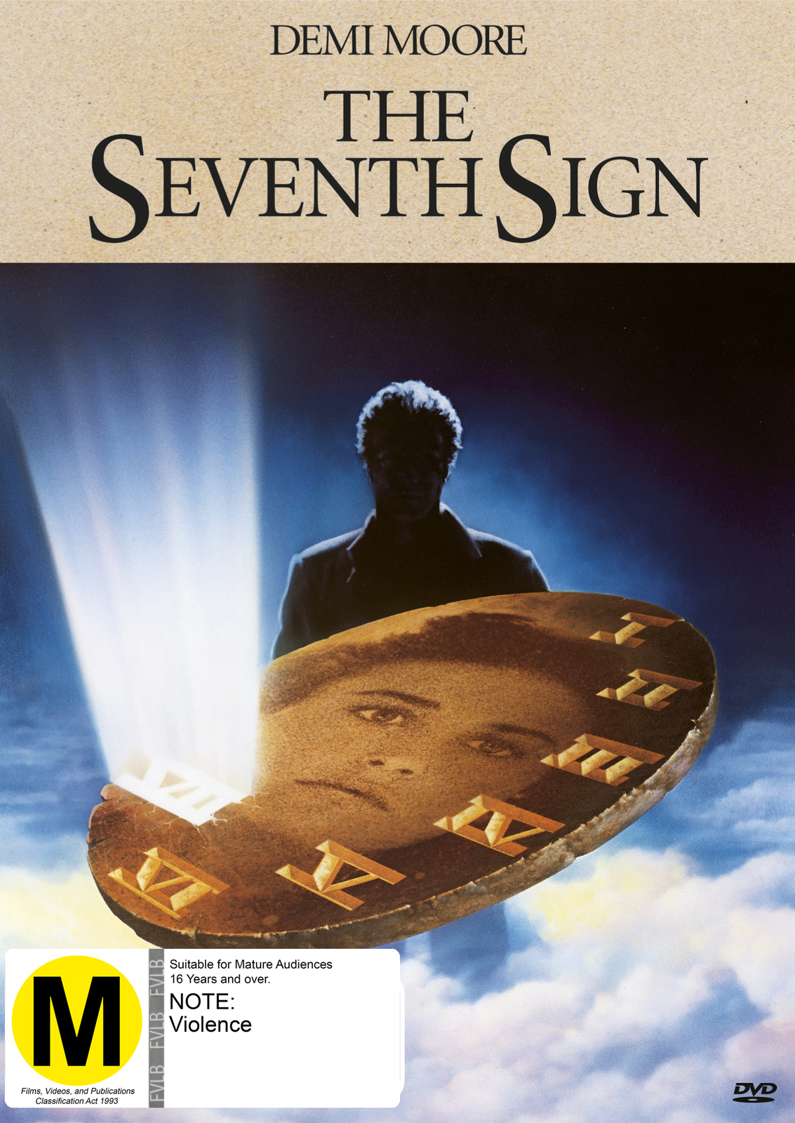 The Seventh Sign on DVD image