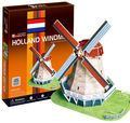 3D Puzzle - Holland Windmill