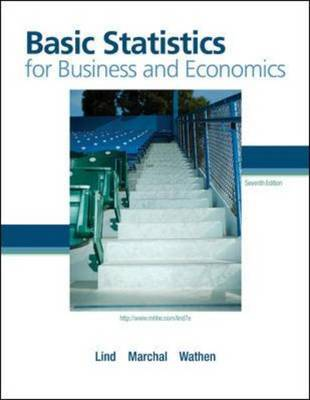 Basic Statistics for Business and Economics by Douglas A. Lind image