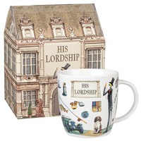 Queens At Your Leisure His Lordship Squash Mug In Box (400ml)