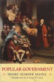 Popular Government by Henry Sumner Maine image