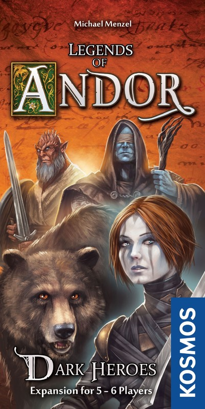 Legends of Andor: Dark Heroes - Expansion