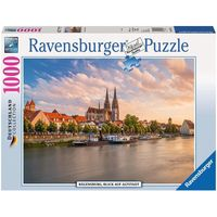Ravensburger : Old Town, Regensburg Puzzle (1000 Pcs)