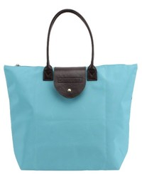 Willow & Rose Foldaway Shopping Tote (Blue)